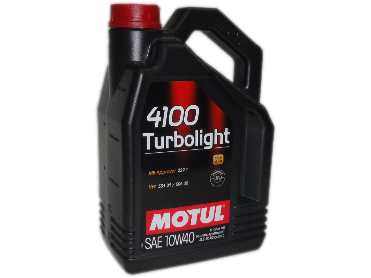 MOTUL 4100 turbolight 10w 40